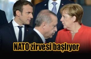 NATO zirvesi başlıyor
