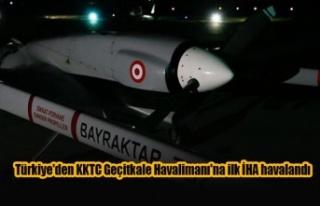Türkiye'den KKTC Geçitkale Havalimanı'na...