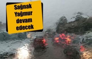 Yağışlar etkisini sürdürecek