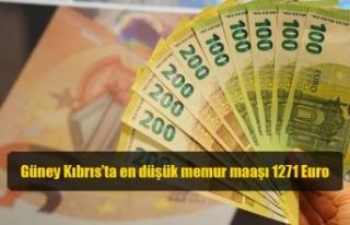 Güney Kıbrıs'ta en düşük memur maaşı 1271...