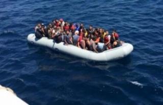 Yeşilırmak açıklarında 34 sığınmacı tespit...
