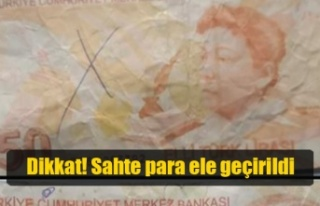 Yılmazköy'de sahte para ele geçirildi