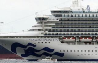 3 bin 500 kişilik gemi karantinada