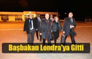 Başbakan Ersin Tatar Londra'ya Gitti