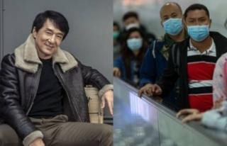 Jackie Chan'den büyük koronavirüs ödülü!