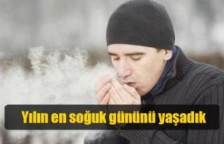 Kıbrıs, dün 'yılın en soğuk gününü' yaşadı