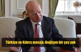 Türkiye ve Kıbrıs mesajı: Değişen bir şey yok