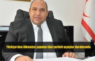 Atakan: Türkiye'den ülkemize yapılan tüm tarifeli...