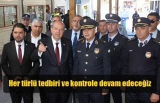 Başbakan Tatar Metehan ve Lokmacı Kapısında İncelemelerde...