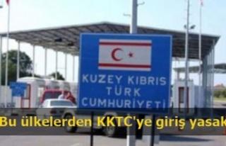 Bu ülkelerden KKTC'ye giriş yasak