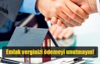 Girne Belediyesi'nden emlak vergileri ile ilgili...