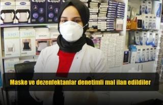 Hükümetten maske ve dezenfektanlarla ilgili önemli...