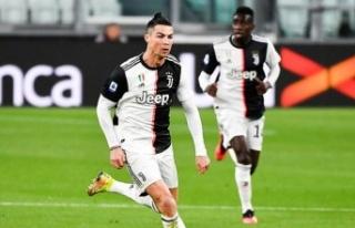Ronaldo koronavirüs nedeniyle İtalya'ya dönmüyor!