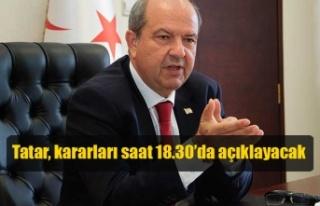 Tatar, Bakanlar Kurulu'nun aldığı ekonomik ve...