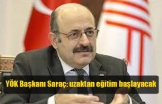 YÖK Başkanı Saraç: 23 Mart'ta üniversitelerde...