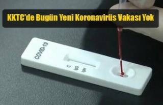 KKTC'de Bugün Yeni Koronavirüs Vakası Yok