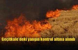 Geçitkale'deki yangın kontrol altına alındı