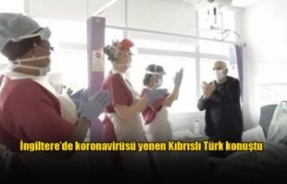 İngiltere'de koronavirüsü yenen Kıbrıslı Türk...