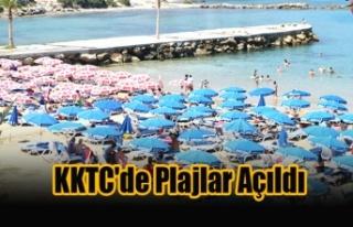 KKTC'de Plajlar Açıldı