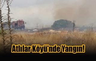 Atlılar Köyü'nde Yangın!