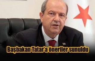 Başbakan Tatar'a öneriler sunuldu