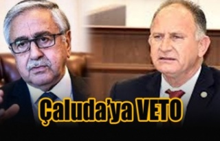 Çaluda'ya veto