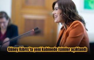 Güney Kıbrıs'ta yeni kabinede isimler açıklandı