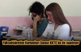 Yükseköğretim Kurumları Sınavı KKTC'de de...