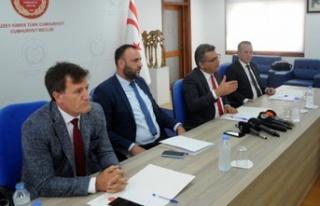 4 muhalefet partisi basın toplantısı düzenledi