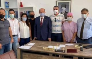 Başbakan Tatar devreye girdi eylem kaldırıldı