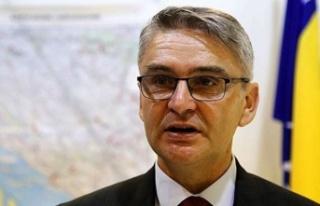 Bosna Hersek'te Gaziler Bakanı Kovid-19 nedeniyle...