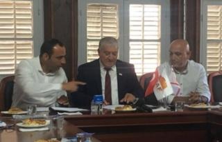 Gazi Baf Şehitler Anıtı'nın ihale sözleşmesi...