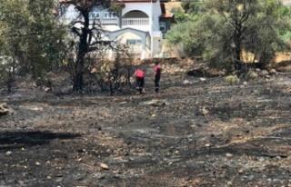 Gaz ocağının açık unutulması sonucu yangın...