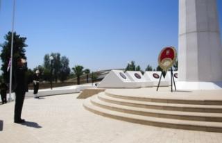 TMT Anıtında da tören düzenlendi