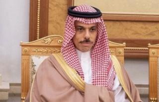 Suudi Arabistan Dışişleri Bakanı'ndan Kıbrıs...