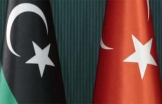 Türkiye ile Libya arasında imzalanan mutabakat zaptı...