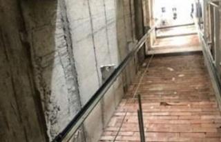14 metrelik asansör boşluğuna düşen genç ağır...