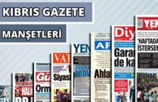 20 Ekim 2020 Salı Gazete Manşetleri