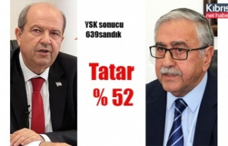 738 sandıktan 639'u açıldı. Tatar önde