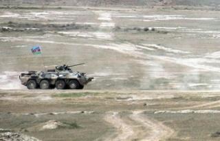 Azerbaycan ordusu, Ermenistan'ın saldırı girişimlerini...