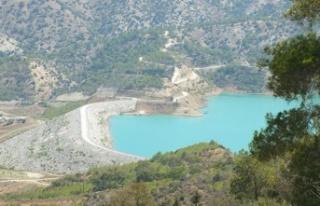 Geçitköy Barajı'na TC'den gelen su akmaya başladı