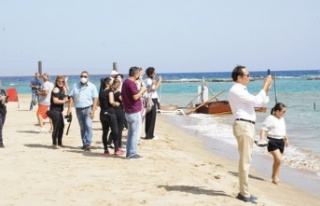 Kapalı Maraş'ın sahil şeridinin açılması...