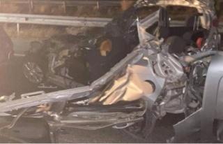 Kazada hayatını kaybedenlerin sayısı 3'e...