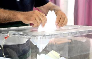 Seçime katılım oranı % 63.03'e çıktı