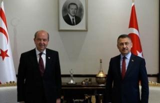 Türkiye Cumhurbaşkanı yardımcısı Oktay, Ersin...