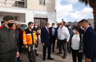 Cumhurbaşkanı Tatar, Ziyamet, Yeşilköy ve Yenierenköy'de...
