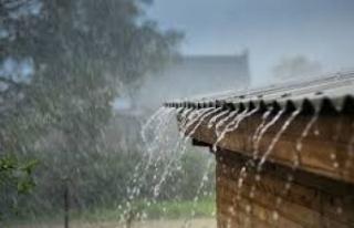 En fazla yağış Dipkarpaz, Koruçam ve Boğaz'a...