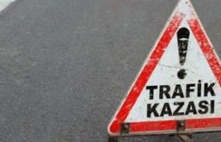 Girne turizm limanında kaza sonucu tırda sıkışan...