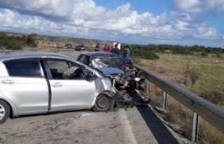 İki araç çarpıştı... 1 ölü