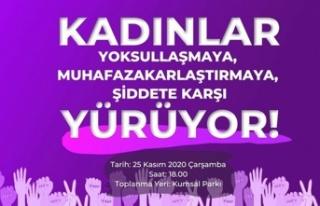 Kadına Yönelik Şiddetle Mücadele Gününde Ortak...